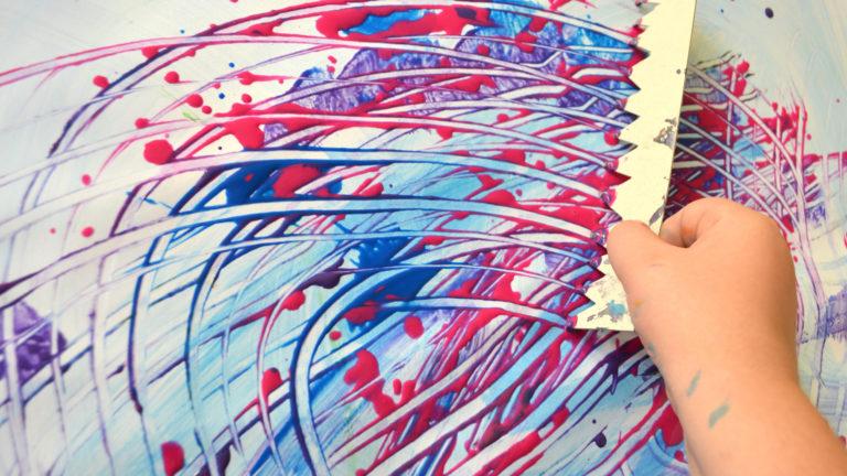 kunstschule buntpapiermachen
