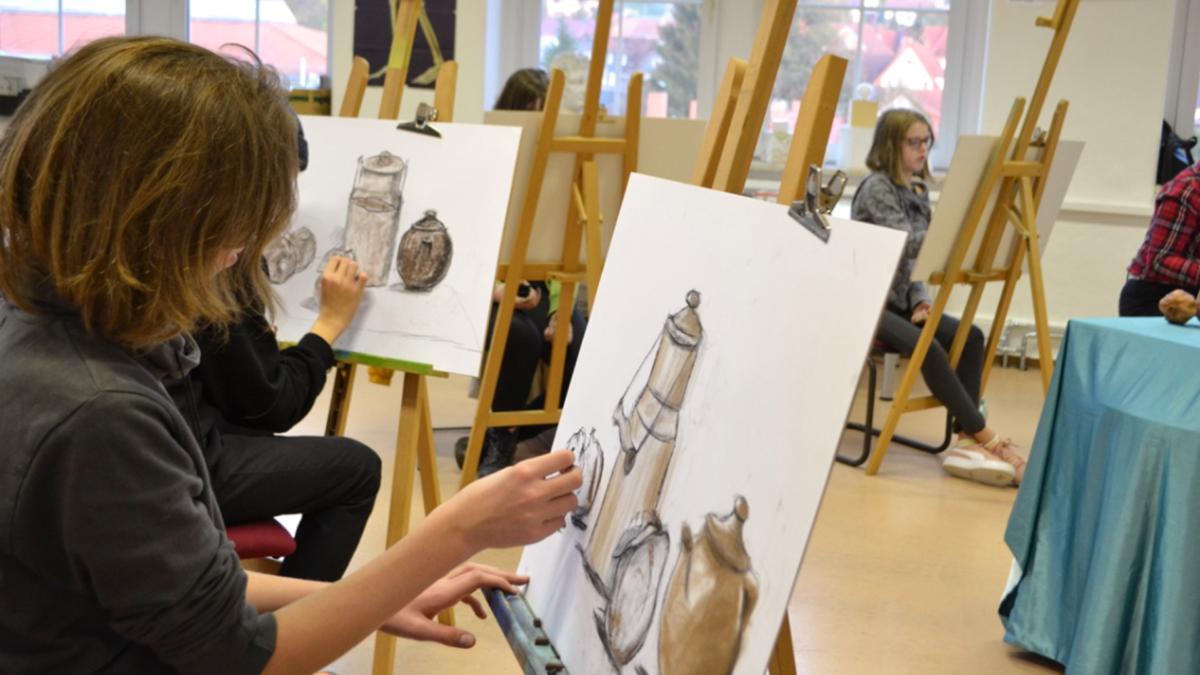 kunstschule mappenkurs