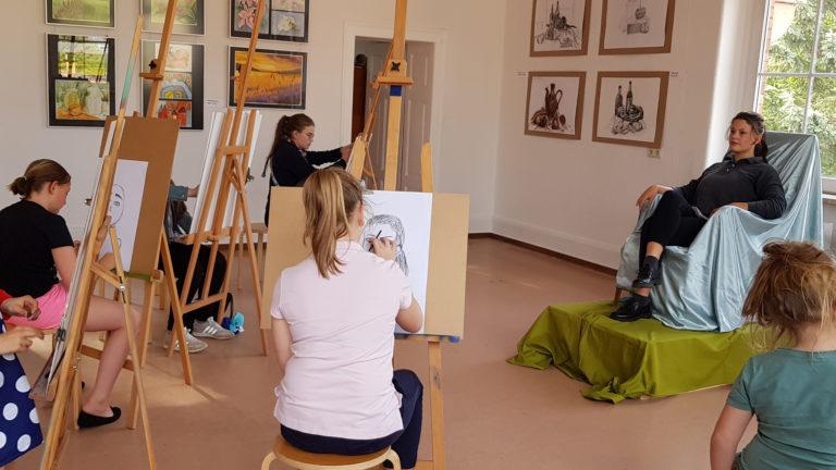 kunstschule portraitzeichnen