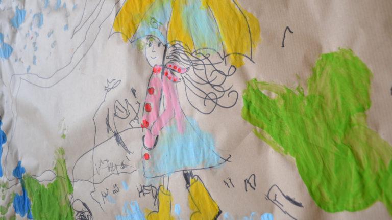 kunstschule ferienangebot im regen