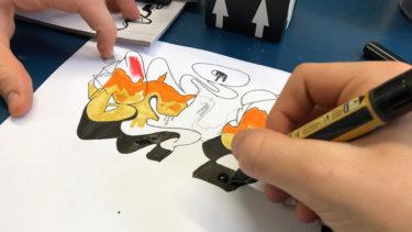 kunstschule graffiti